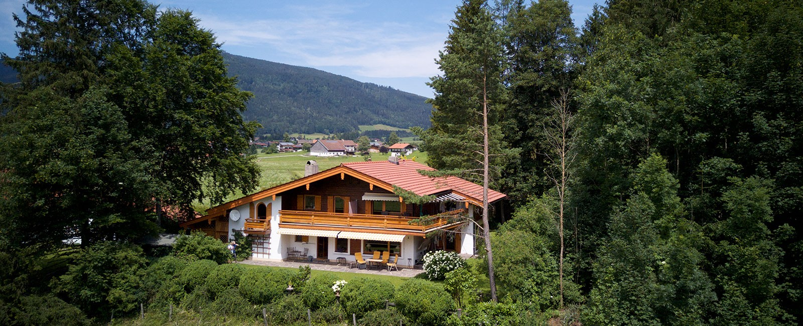 Ferienwohnung Inzell - Sommerurlaub