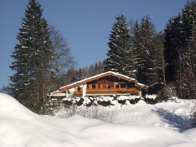 Ferienwohnung Inzell-Gräbeldinger im Winter