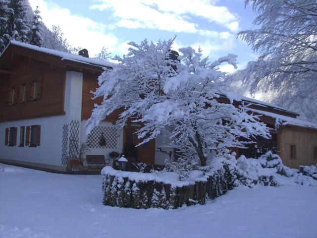 Winterwonder vor der Haustüre  Ferienwohnung Inzell-Gräbeldinger