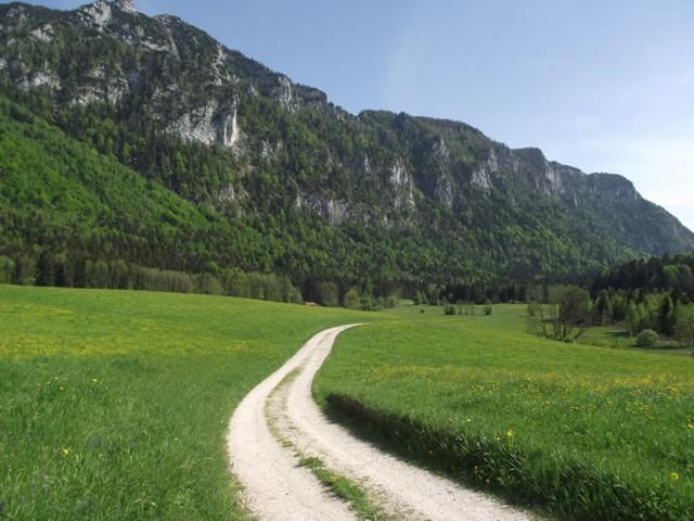Wanderwege in Inzell  Ferienwohnung Inzell-Gräbeldinger