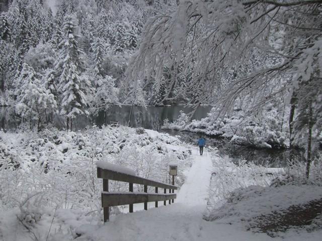 Winterwandern in Inzell  Ferienwohnung Inzell-Gräbeldinger