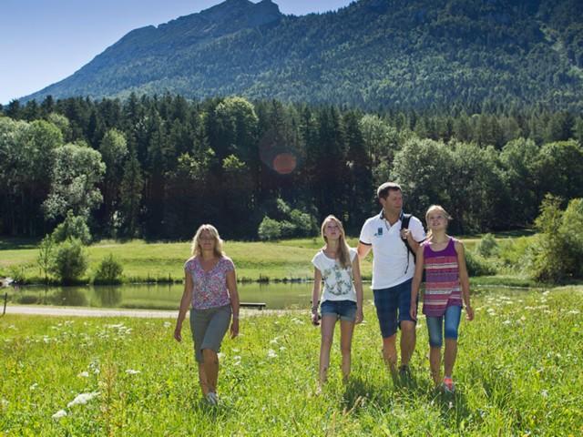Familienurlaub Inzell  Fewo Gräbeldinger