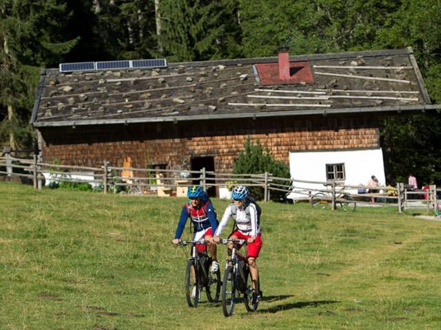 Mountainbike Urlaub Inzell  Fewo Gräbeldinger