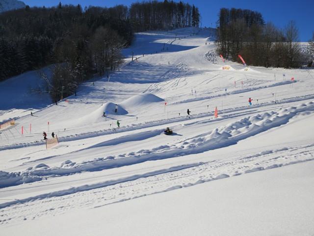Skifahren Inzell - Kessellifte  Fewo Gräbeldinger