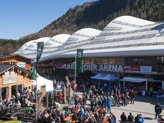 Veranstaltung Max Aicher Arena Inzell  - Fewo Gräbeldinger