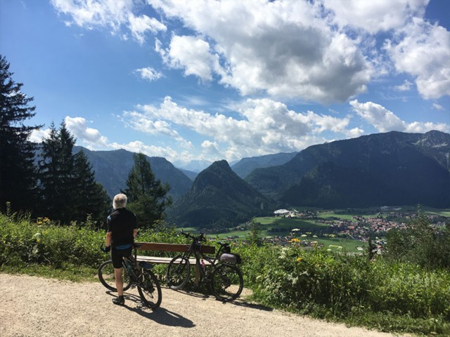 Mountainbike Urlaub Ferienwohnung Inzell am Römerweg 'Wald