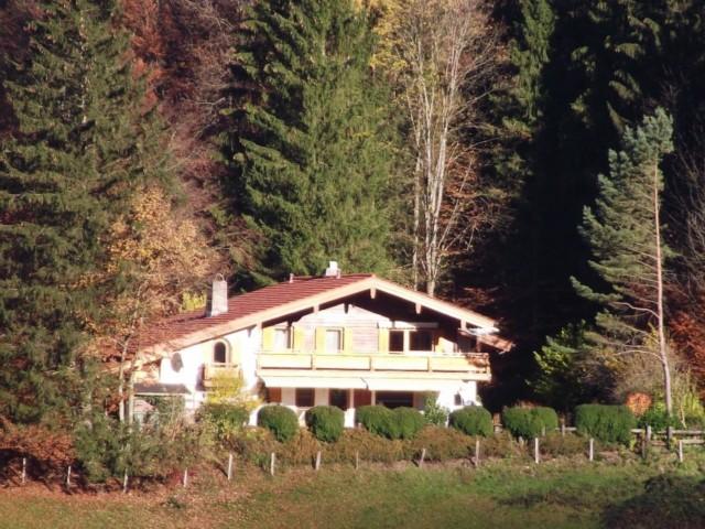Ferienwohnung Inzell am Römerweg 'Wald im Herbst